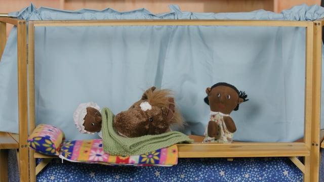 Screencap taken from The Letter B - Preschool Storytime Online - Episode 29