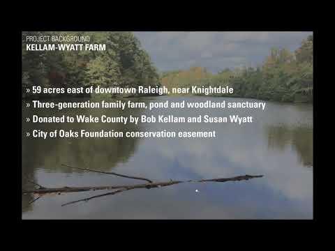 Screencap taken from Kellam-Wyatt Farm Virtual Public Meeting 1