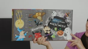 Screencap taken from Halloween Hoot Storytime Online - Episode 3