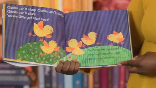 Screencap taken from Letter F Toddler Storytime Online - Episode 30