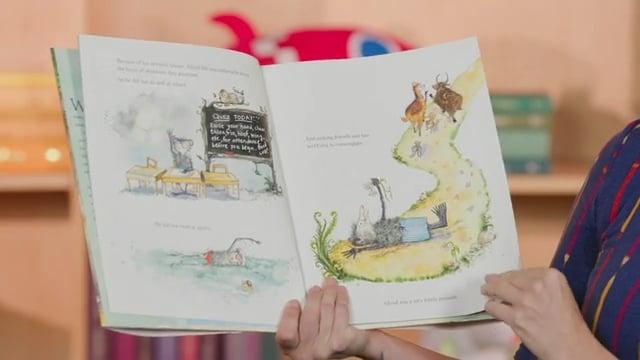 Screencap taken from Play! Preschool Storytime Online - Episode 28