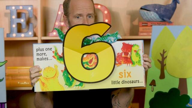 Screencap taken from Dinosaurs Toddler Storytime Online - Episode 26
