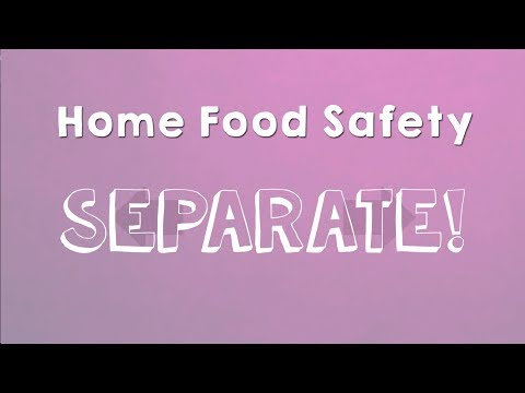 Screencap taken from Home Food Safety - Separate!