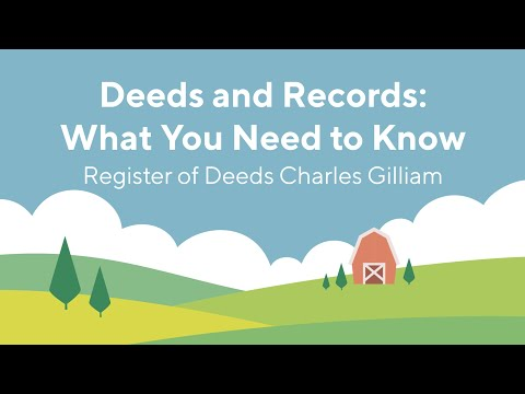 Screencap taken from Deeds and Records: What You Need to Know