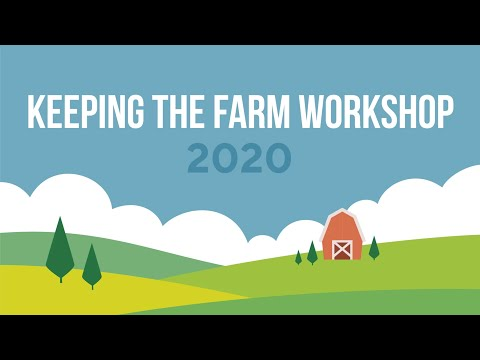 Screencap taken from Welcome to the 2020 Wake County Keeping the Farm Workshop!
