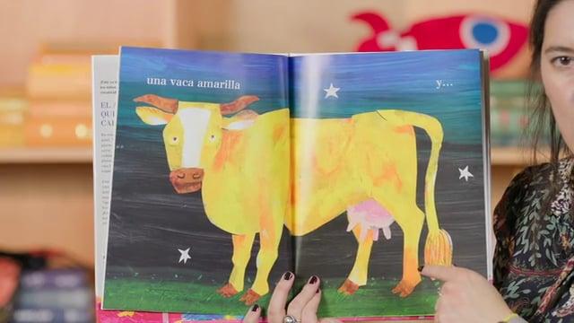 Screencap taken from Bilingual Family Storytime Online Episode 2   Cuentos Familiares Bilingües por Internet Episodio 2