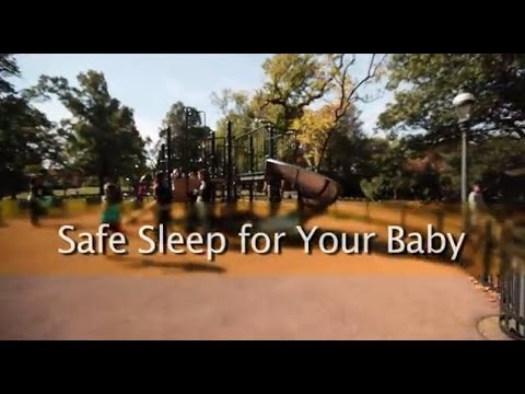 Screencap taken from Safe Sleep for Your Baby