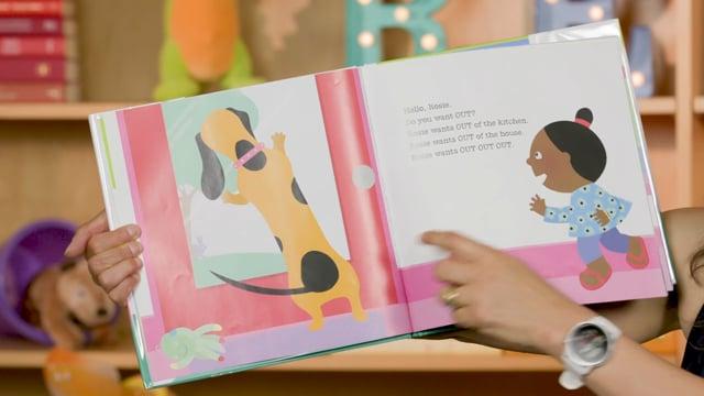 Screencap taken from Toddler Storytime Online - Episode 24