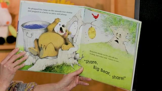 Screencap taken from Toddler Storytime Online - Episode 22