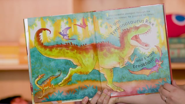 Screencap taken from Preschool Storytime Online - Episode 25