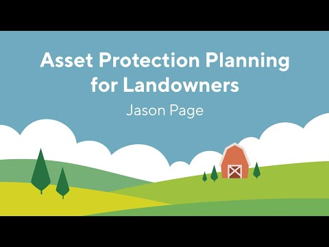 Screencap taken from Asset Protection Planning for Landowners