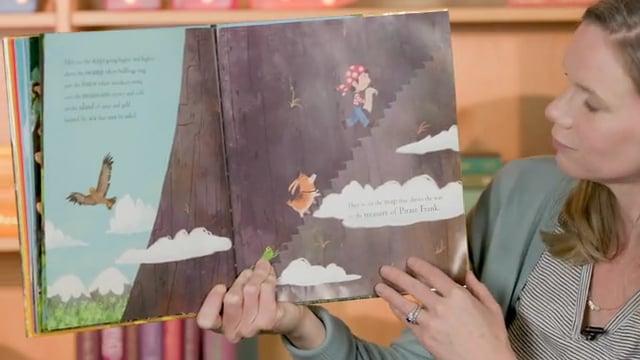 Screencap taken from Toddler Storytime Online - Episode 23