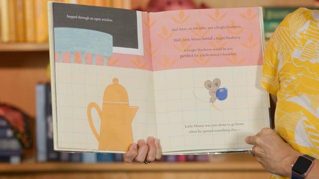 Screencap taken from Breakfast Toddler Storytime Online - Episode 32