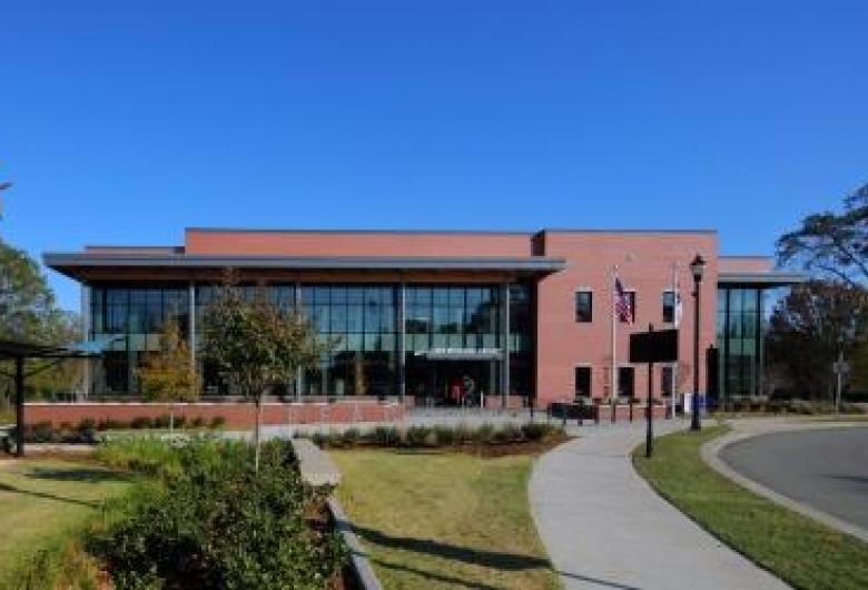 Cary Regional Library Streetside