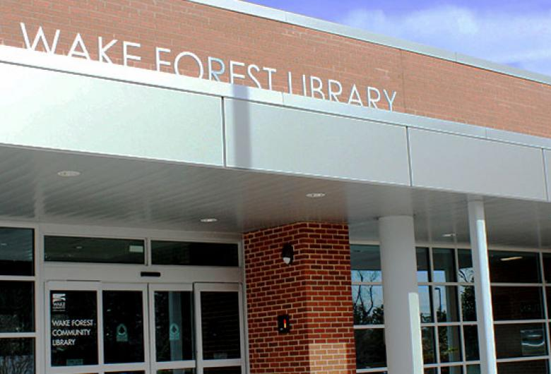 Wake Forest Community Library