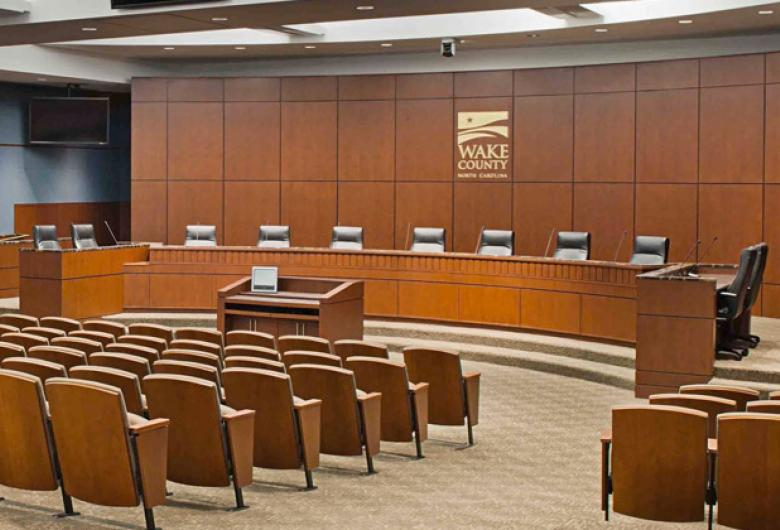 Wake County Board Room