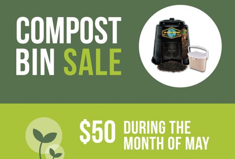 Discounted Compost Bin