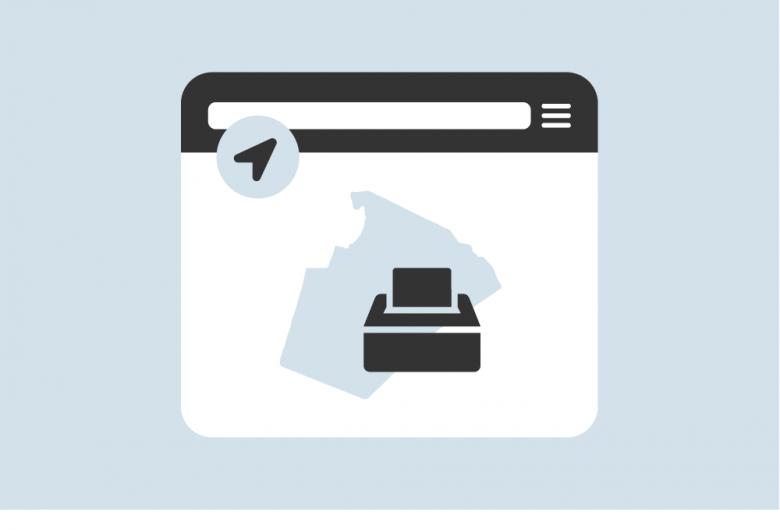 electoral districts locator app icon