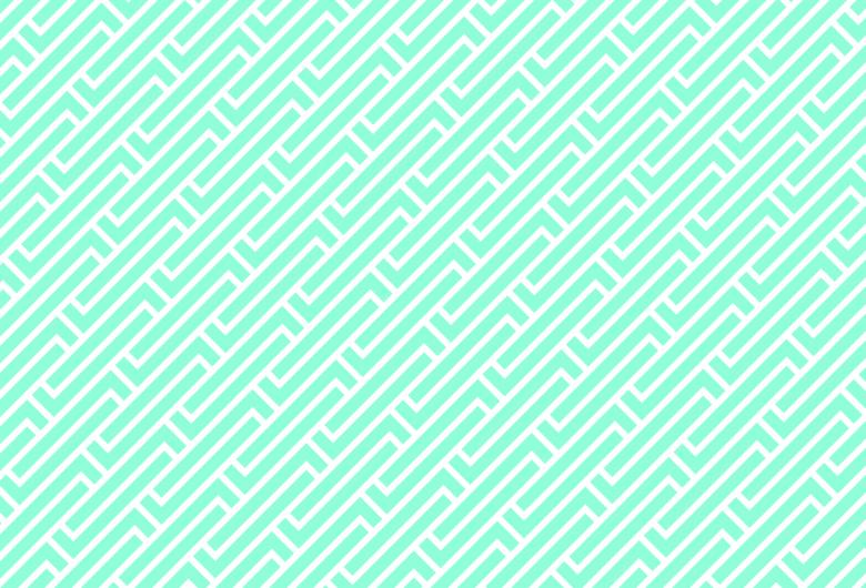 Library Pattern Blue