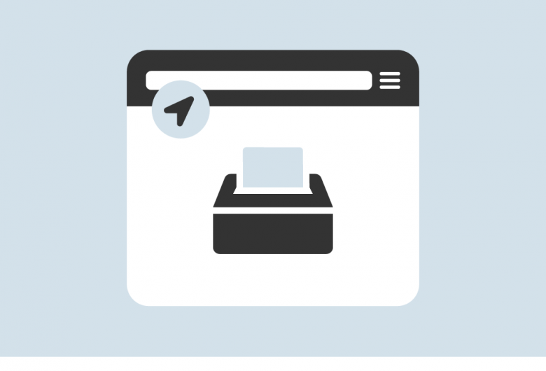 polling place locator app icon