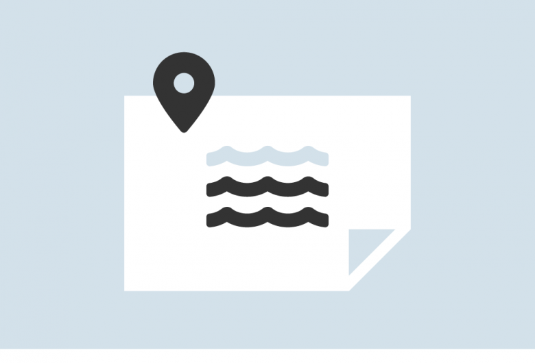Recreational Waters Status Map icon