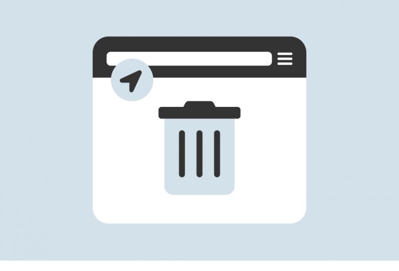solid waste recycle & disposal drop-off locator app icon