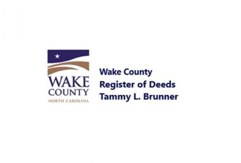 Wake County Register of Deeds Tammy L. Brunner