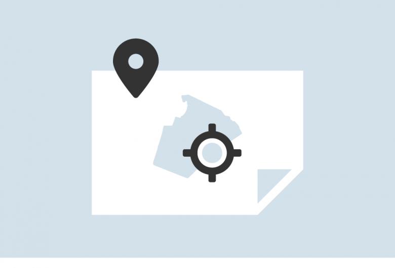 zoning map icon