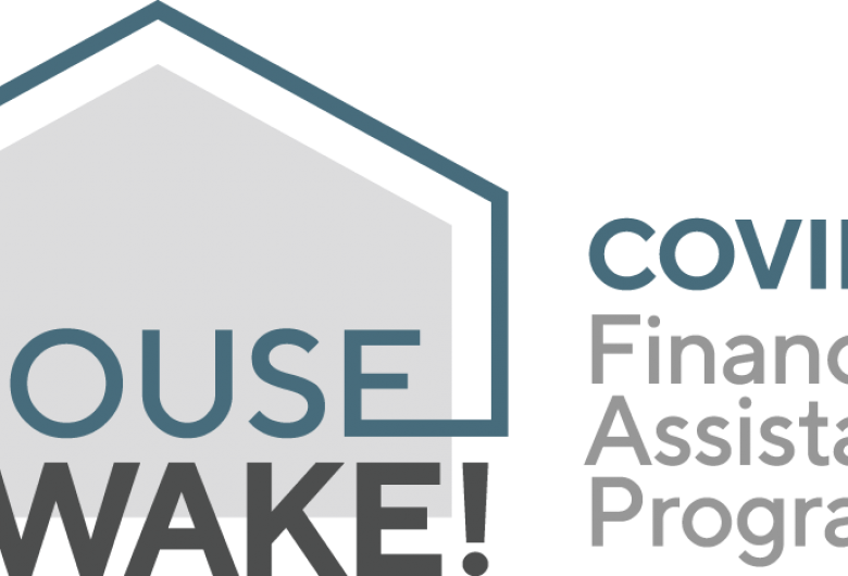 HouseWake! COVID-19 Financial Assistance Program logo