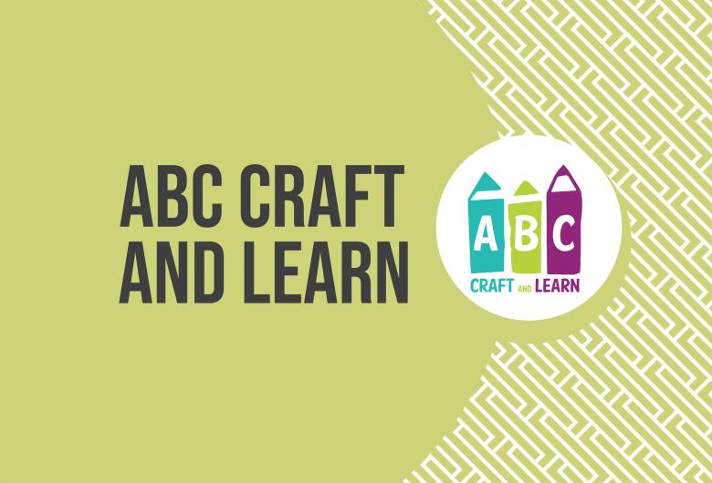 ABC Craft and Learn text and logo