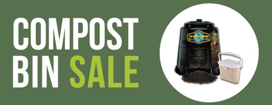 Compost Bin Sale Event