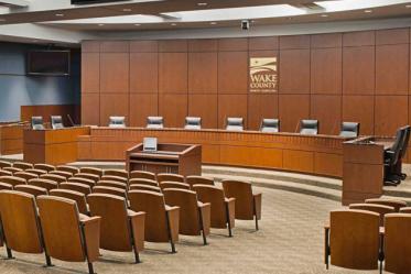Wake County Board Room