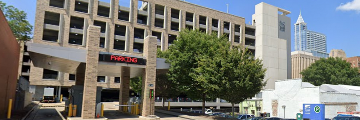 Wake County Parking Deck