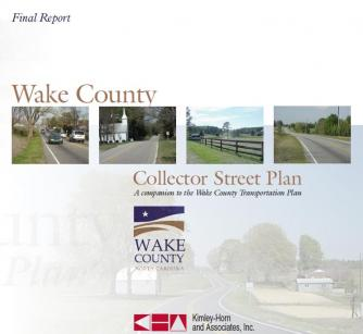Wake County collector street plan