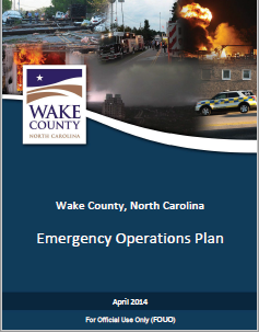 Emergency Operations Plan Cover