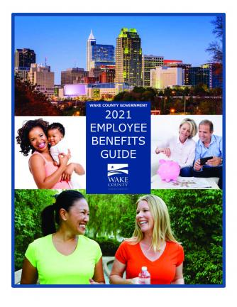 2021 Employee Benefits Guide cover image