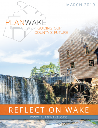 first page of Plan Wake Reflect on Wake report