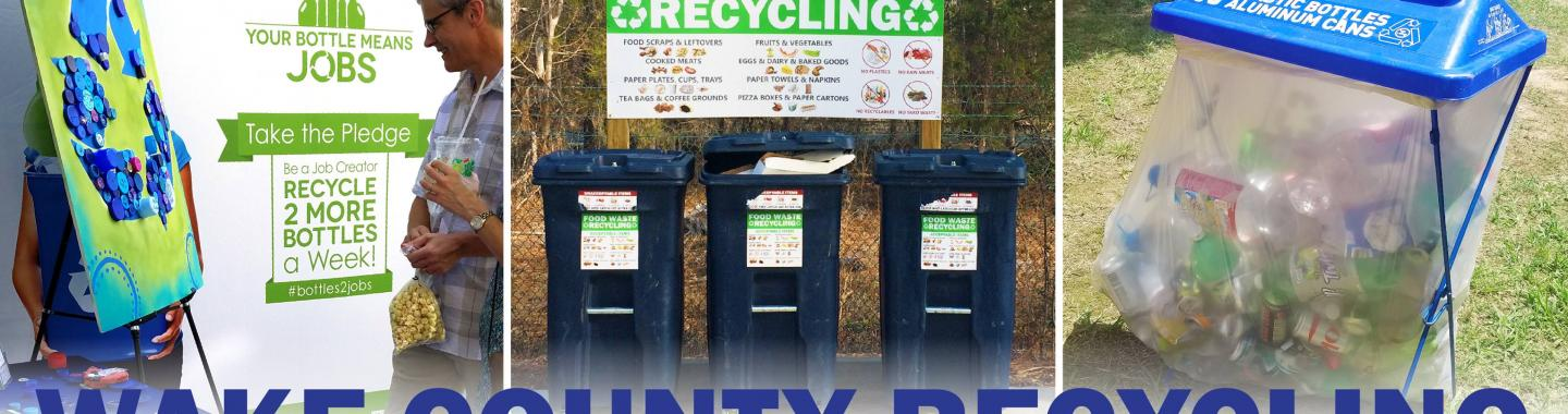 Pictures of recycle bins.