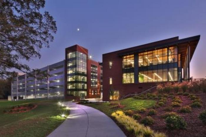 Cary Regional Library Plaza Walk