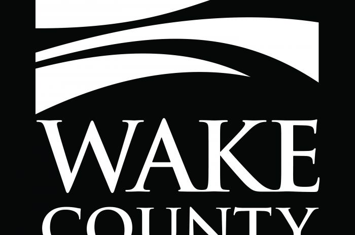 Wake County Logo in White, JPEG format