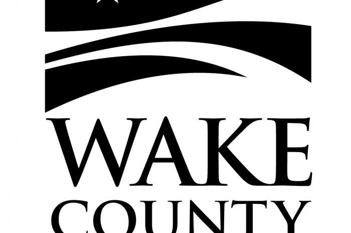 Wake County logo in Black, JPEG format