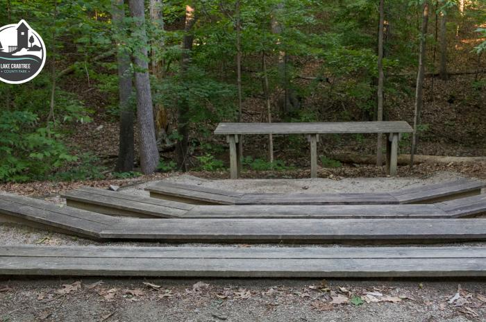 wooden amphitheater