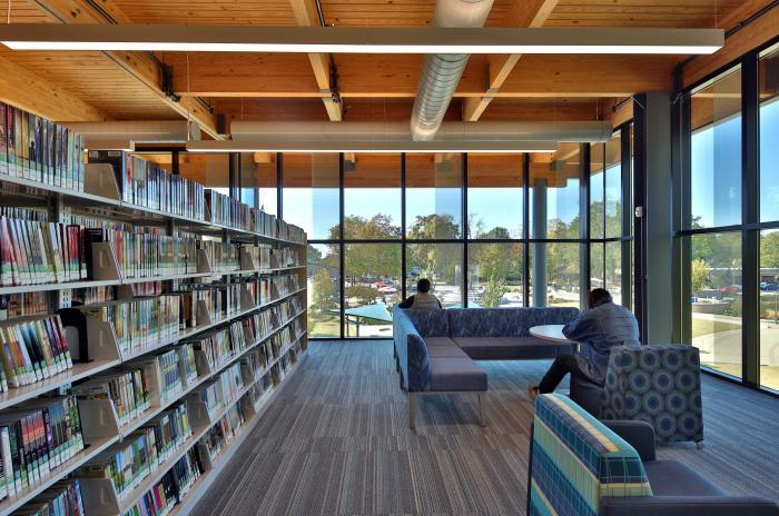 Cary Regional Library Interior