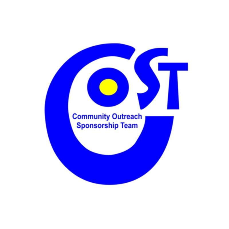 Community Outreach Sponsorship Team (C.O.S.T) Logo