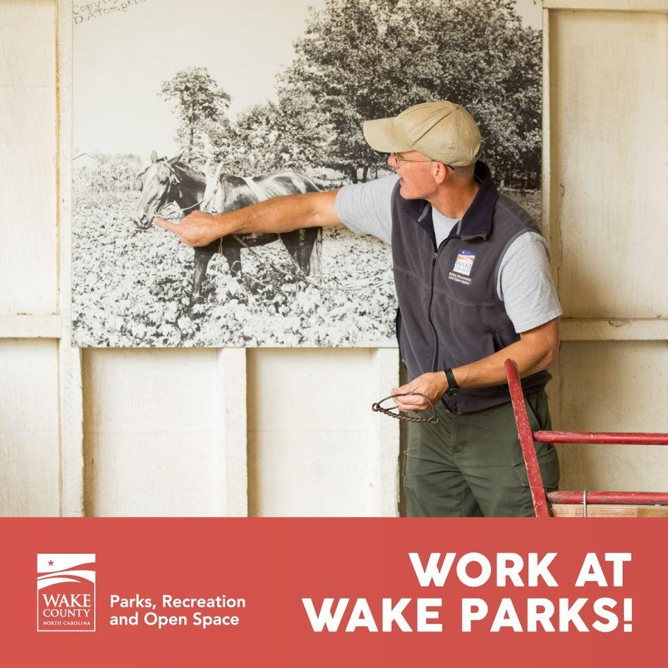 Advertisement for working at Historic Oak View