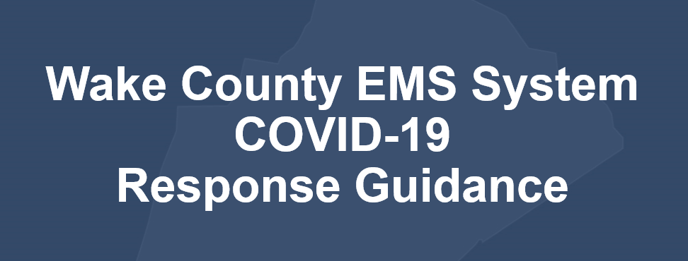 EMS Covid response guidance logo