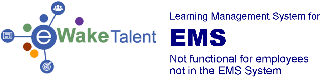 eWake Talent for EMS logo
