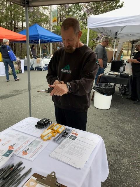 residents give input at Holly Springs farmers market