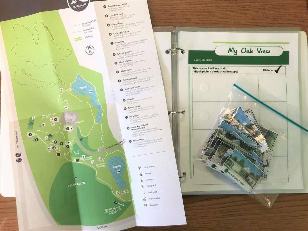 Items in the My Oak View Park Pack for kids on the autism spectrum