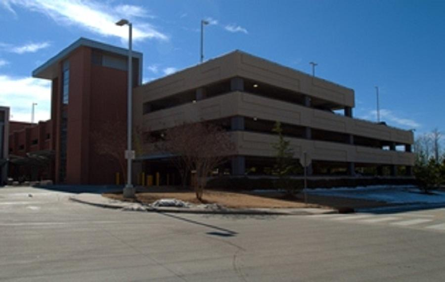 Wake County Detention Center Parking Deck